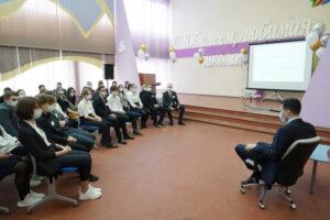 Встреча с Алихановым А.А.